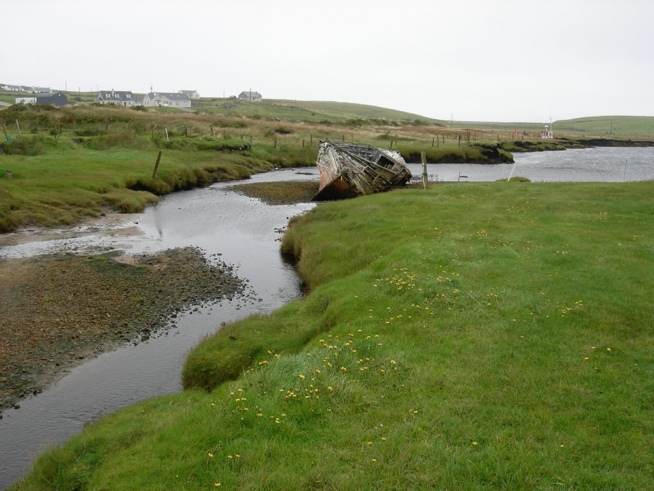 Where the creek feeds Blind Harbor in Tipp