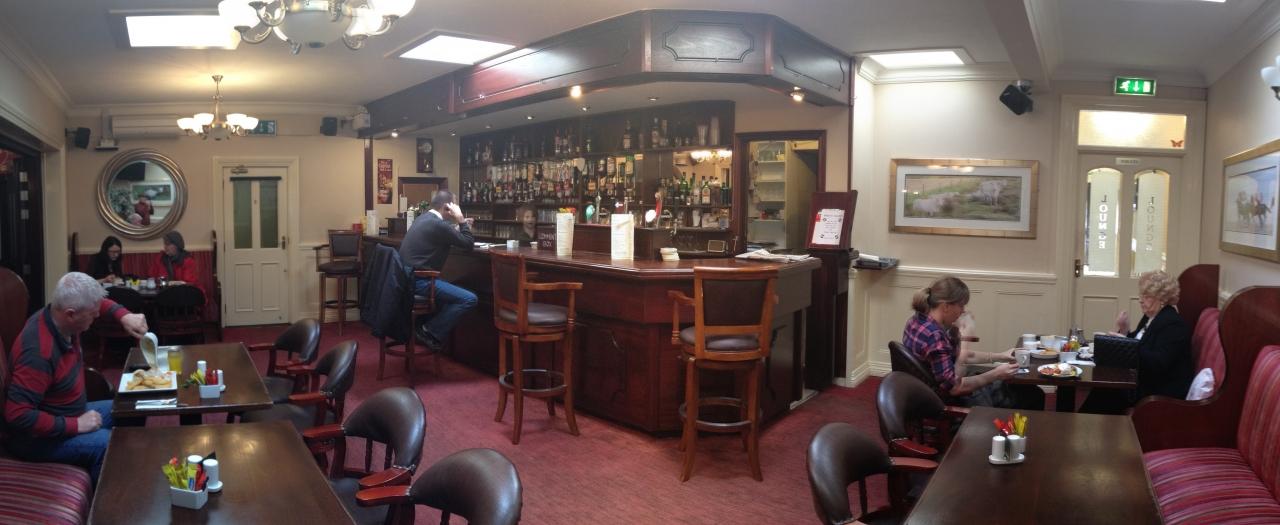 Back bar at the Western Strands.