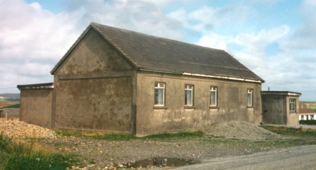 Shuttered Gladree School House