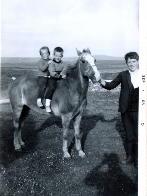 Mike & Anna Coyle with Uncle Willie. 1966