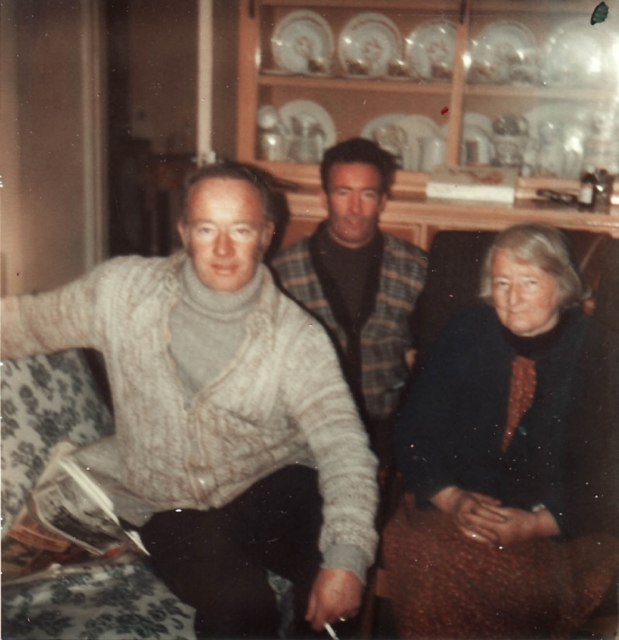 Mike & Frank with Mom, Mary McCormick Coyle