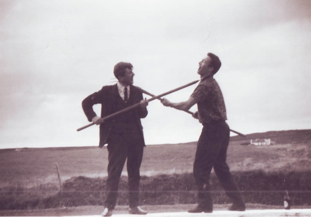 Unknown (left) and Frank