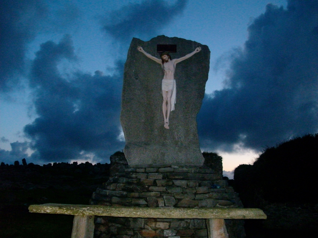 Memorial in Termoncarragh Cenetery.
