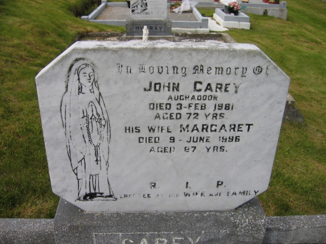 Carey John and Margaret